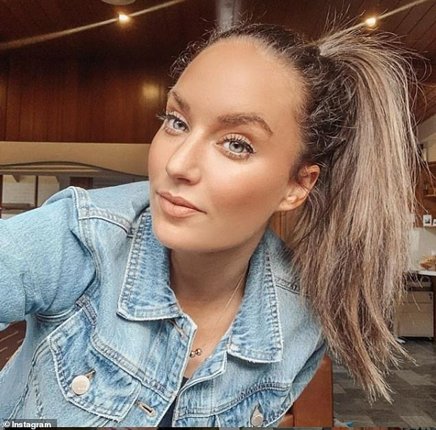 Trolling: On Wednesday, Former Bachelor star Zoe O'Brien [pictured] still couldn't relate to Bella's infatuation as she made her feelings of disgust against Locky Gilbert known on her Instagram Stories