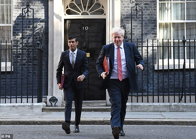 Boris Johnson and his Chancellor Rishi Sunak reportedly received contributions from Anders Tegnell in their briefings