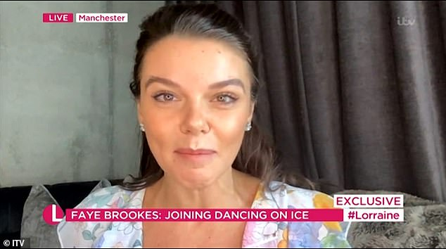 Announcement!The actress, who left the cobbles in 2019, now joins Denise Van Outen, Myleene Klass and Joe-Warren Plant as competitors on the ice rink