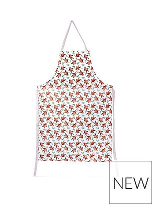 Gisela Graham Gingerbread Men Fabric Apron (£14.99) at Very