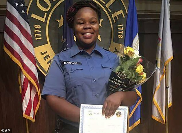 Alicia Garza made the comments on Wednesday after Cameron announced why a grand jury didn't seek criminal charges against police officers in Breonna Taylor's death