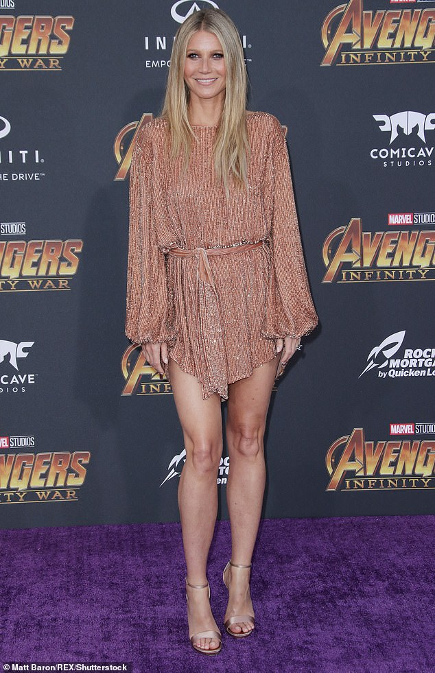 A more recent look: In 2018 for the Avengers: Infinity War film premiere in Los Angeles