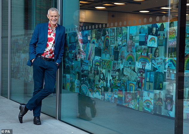 Presenter Jeremy Vine's 'outsized' feet have become the topic of discussion for Twitter users