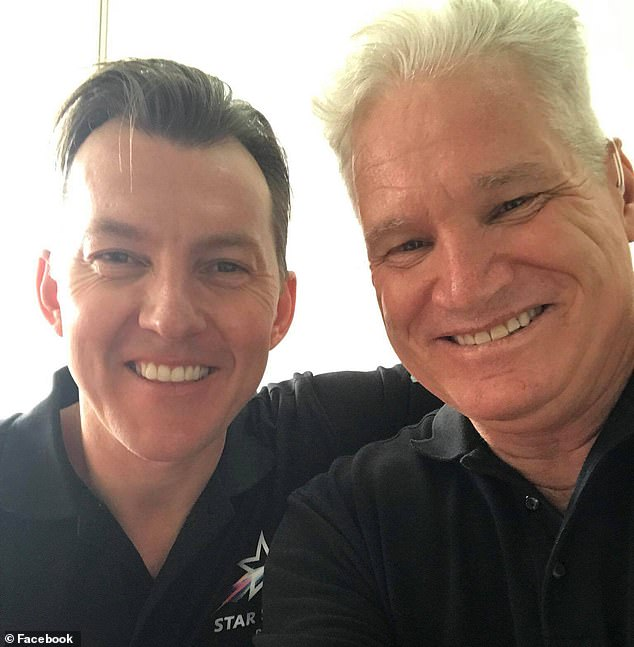 Daily Mail Australia reported Brett Lee (L) tried to revive Jones after he had a heart attack