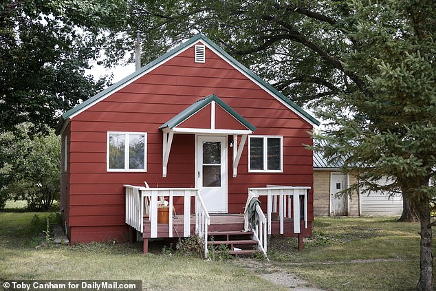 Pictured is Boevers house in Highmore, South Dakota. His estranged wife is still waiting for an apology from Ravnsborg but isn't holding her breath