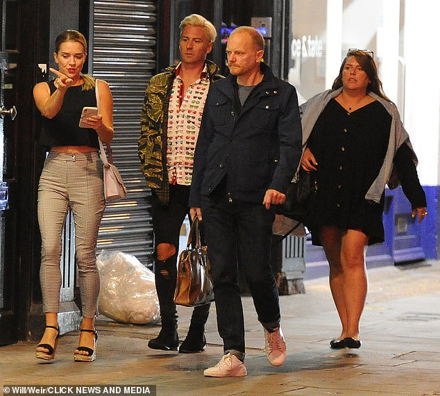 Getaway:His foray into the world of online dating came just five weeks after he jetted off to Mykonos, Greece with mother-of-one Micah Taffurelli, days after confirming the end of his marriage to Bake Off star Candice
