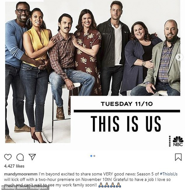 This Is Us: The hit show This Is Us features a dynamic crew of actors including Sterling K Brown, Chrissy Metz and Justin Hartley