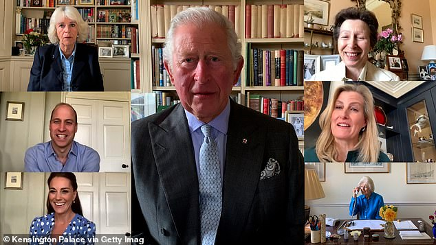 The royal family, pictured on International Nurses Day, adapted to an unprecedented change in royal duties during lockdown, with public appearances swapped for online video calls
