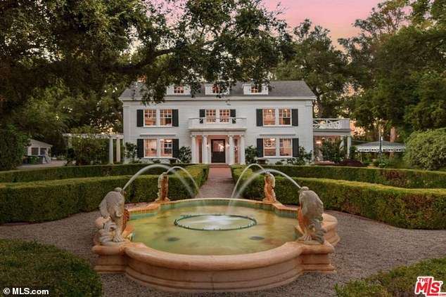 Family: Richards and Umansky bought the property for $8.2 million just months before the robbery, and the RHOBH star admitted that she was tempted to move after it happened