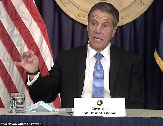 Speaking on MSNBC on Friday night New York Governor Andrew Cuomo said that he saw Trump's tweet as a vailed threat that his state would be the last to receive the vaccinePres