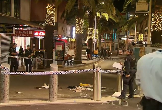 The vicious brawl allegedly occurred in front of horrified witnesses and saw one man dead