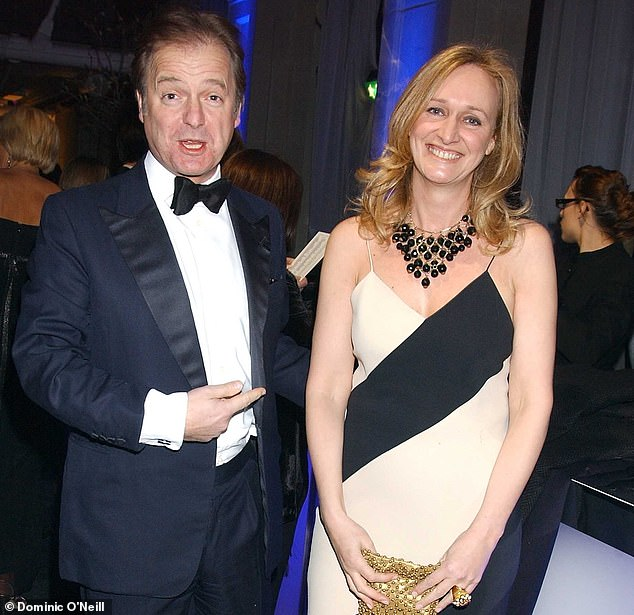 Sasha Swire's Diary Of An MP's Wife reveals that in 2010, PM David Cameron was still in thrall to the ravings of his hippy-dippy director of strategy Steve Hilton. Pictured: Sasha Swire with husband Hugo Swire at the Conservative Party's Black & White Ball in 2006