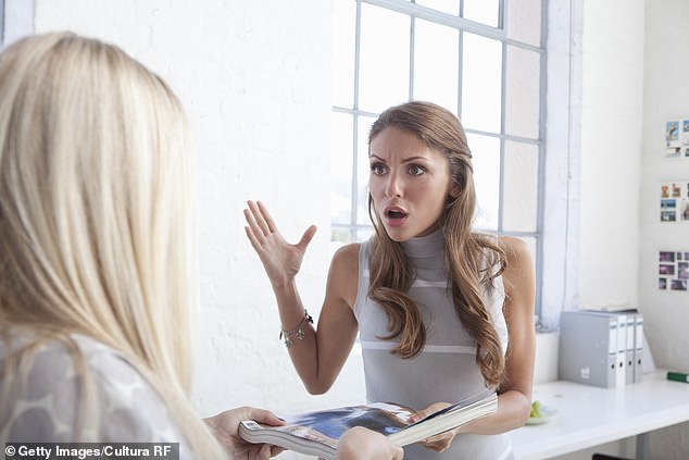 Regular hot-tempered behaviour is often not desired at work as it may make others feel uncomfortable or anxious, Sue said