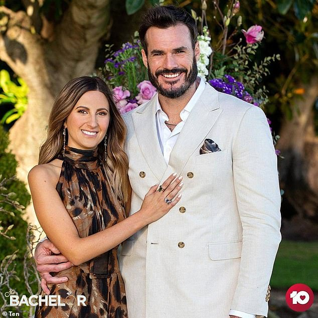 So happy!Last month, a conflicted Locky chose Irena as his winning contestant during The Bachelor's emotional finale
