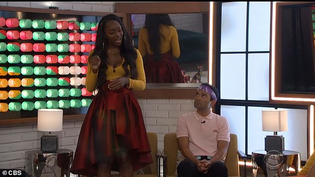 Applauded: Da'Vonne applauded those who had been honest with her about how the week was going to go, and said she would take it into consideration when she served on the show's jury