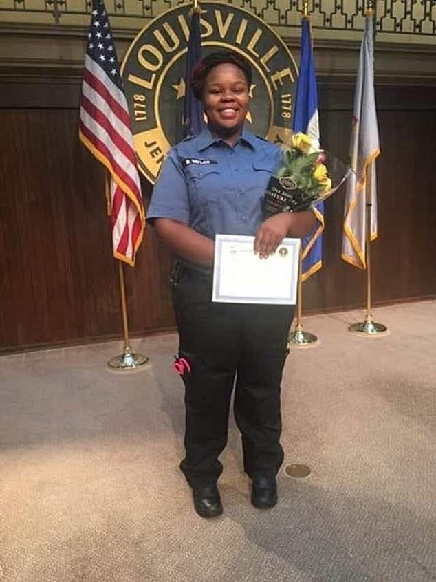 No murder charges have been brought against the Louisville police officers in connection with the death of Breonna Taylor (pictured)