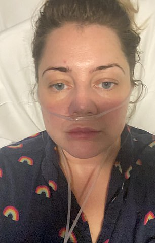 After fighting Covid at home for 12 days, Tilly Thorpe ended up in hospital with pneumonia, hooked up to an IV drip and treated with steroids, painkillers, anti-nausea drugs and oxygen