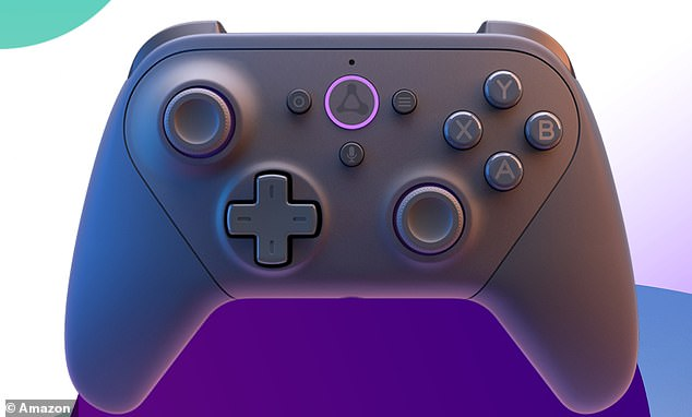 The Luna Controller (pictured) is a specifically made for Amazon's cloud gaming service,Amazon Luna