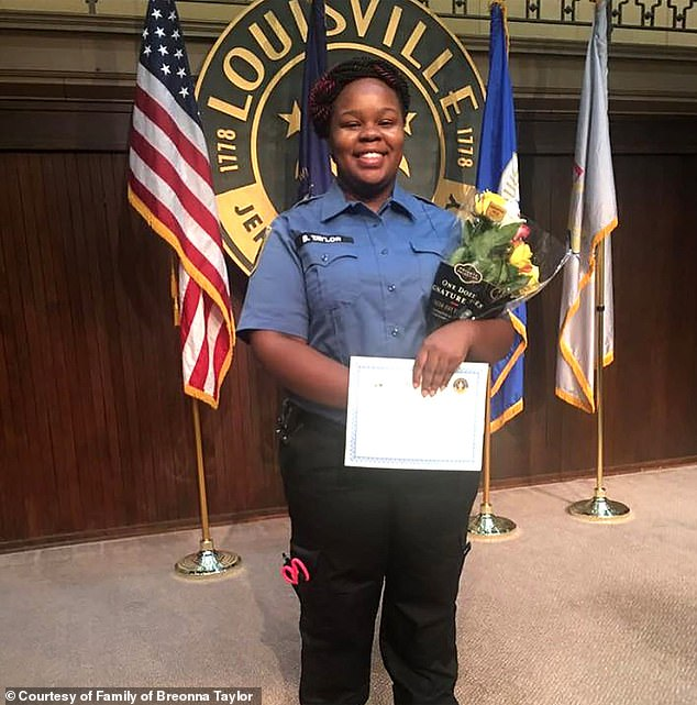 Breonna Taylor was shot and killed by police during a botched police raid on her apartment back in March using a no-knock warrant