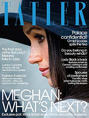 The results of the Tatler survey are contained in the November issue of the magazine