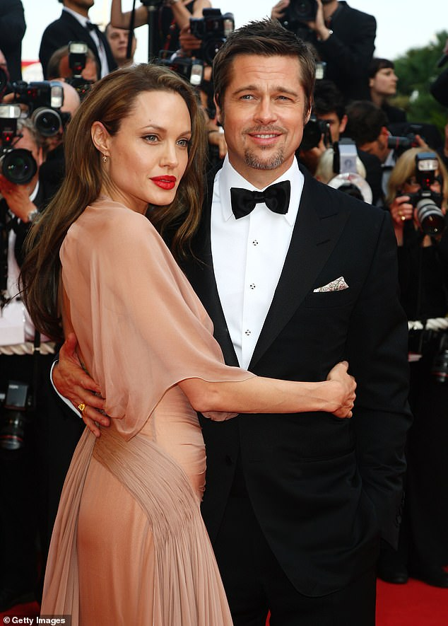 """Tensions have escalated between Brad and Angelina as family therapy is no longer taking place, """"a source said in the United States;  seen in 2009"""