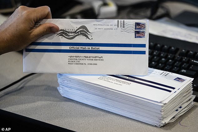 President Donald Trump has cast doubt on mail-in voting, suggesting that process was ripe for fraud. Democrats have pushed to increase mail-in voting opportunites around the United States so people don't have to go to the polls personally due to the COVID-19 pandemic