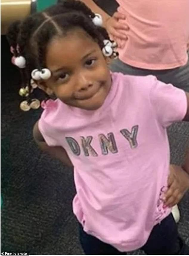 Jaylynn Evans (pictured), a three-year-old girl in New York City, died on Thursday evening after she became unconscious and unresponsive