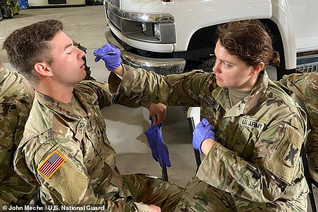 According to Defense.gov, more than 64,000 military personnel have tested positive for coronavirus and over 43,000 of those cases have recovered