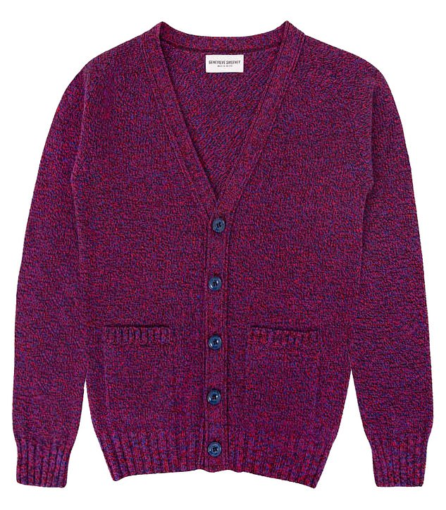 Ms Vardag also noted they shouldn't wear anything 'homespun or homely' adding that 'cardigans are almost never ok'