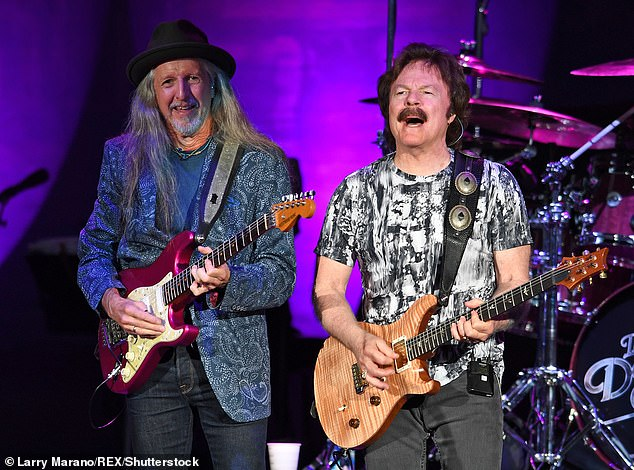 Pop legends The Doobie Brothers (pictured) are threatening Bill Murray with legal action for using their music in an ad