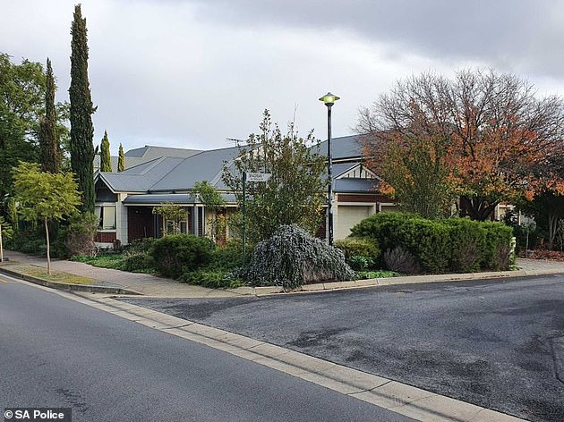 The 54-year-old lived alone in her Adelaide home (pictured) and relied on carers under the National Disability Insurance Scheme