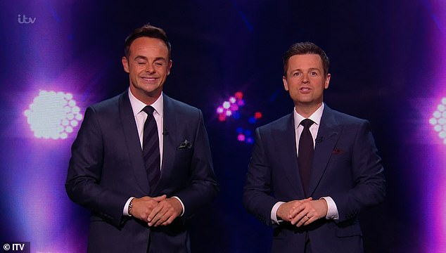 Banter Ashley said to Ant and Dec: 'You two are looking so smug!' While the hosts, who pressed the golden buzzer for Jon, said: 'Proud actually'