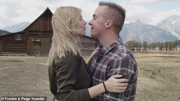 Big news: Frankie Muniz and his newly married wife Peggy Price Muniz took to YouTube on Saturday with a happy announcement that the happy couple is '15 weeks along, and counting 'as they expect their first child