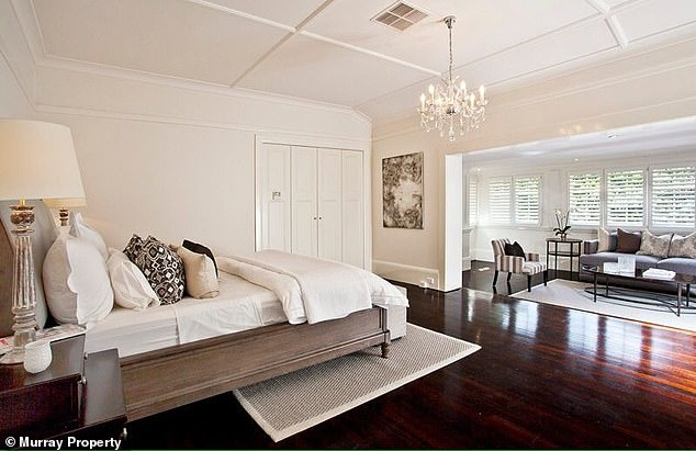 Classy:It boasts a grand marble entrance leading into a large foyer with bevelled glass windows and a wide staircase
