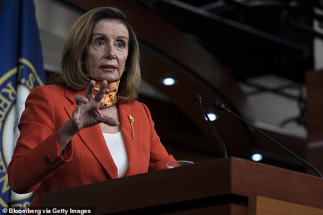 Pelosi was criticized by King for her use of the word 'henchmen', but was unabashed
