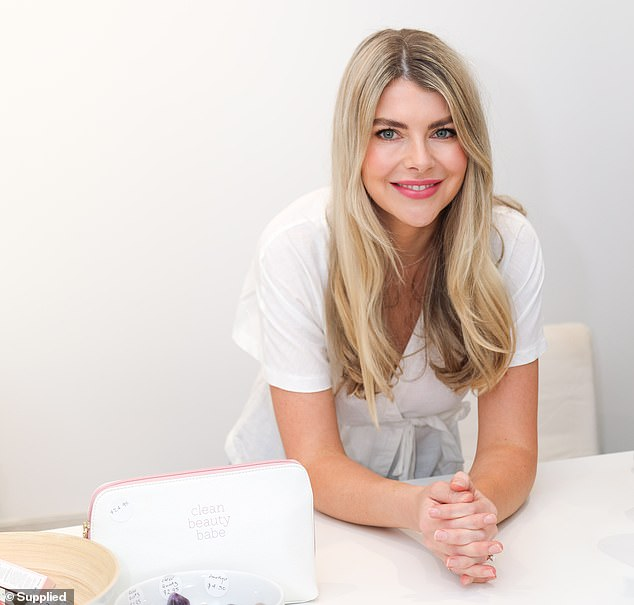 Erin Norden (pictured) launched the brick-and-mortar and online store for Clean Beauty Market at the same time in September 2017