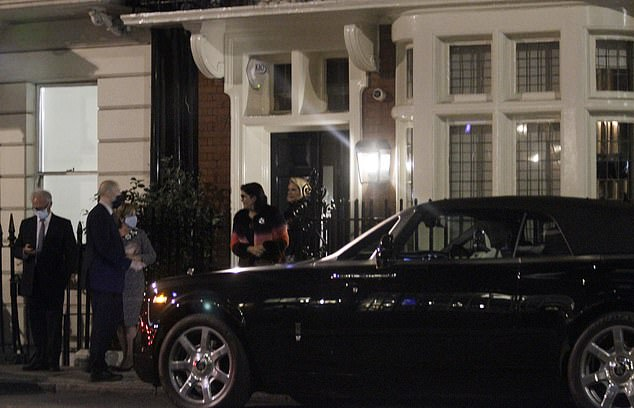 Witnesses slammed the scenes as 'another law for the rich and another for the poor' as people were seen at the club - dubbed a 'haven of exclusivity' - as late as 10.43pm