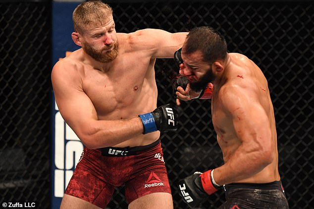 The Pole knocked out Dominick Reyes to claim the belt that Jon Jones had vacated this year