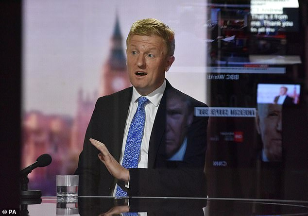 Culture Secretary Oliver Dowden today urged the Premier League to 'step up to the plate' and help EFL clubs survive the coronavirus crisis