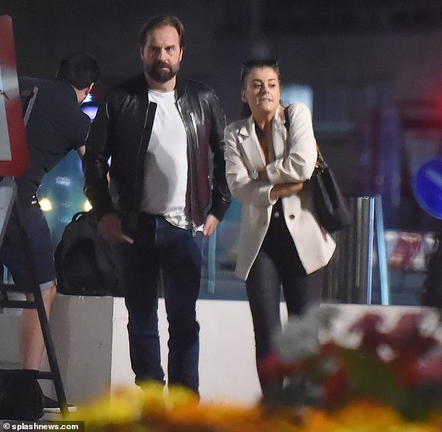 New love? Alfie Boe cut a casual figure as he stepped out for dinner in London with fashion blogger Liv Knight-Butler, who is 21-years his junior, after splitting from his wife of 16-years amid claims he was cheating on her