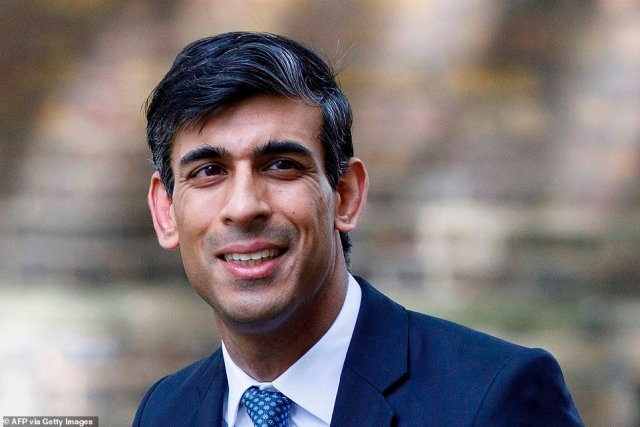 The results suggest there is growing support for the position of Chancellor Rishi Sunak