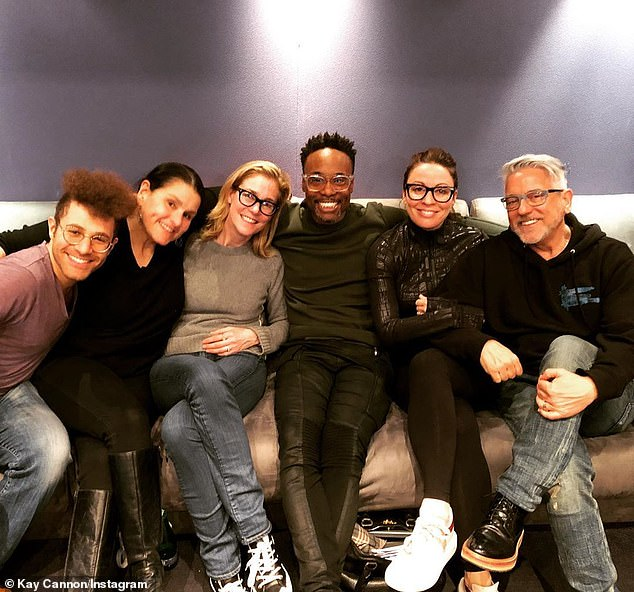 'The Fabulous Godmother has arrived!' The talented ensemble also features Tony winner Billy Porter (M, pictured February 15) as Fab G - a genderless fairy godparent - as well as James Corden, John Mulaney, Missy Elliot, and Pierce Brosnan