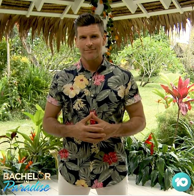 'Maybe it's not the last we'll see of Bella': Bachelor host Osher Gunsberg (pictured) also hinted the Sydney-based stunner could be headed for season four of Bachelor In Paradise