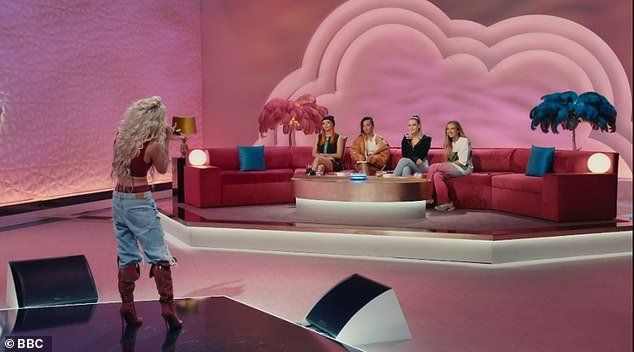 Still to come:Throughout the series there will be six categories with girl dance, girl vocal, vocal and instrument, as well as rap and R&B, coming up in other episodes (pictured is Rosie on Sunday's episode)