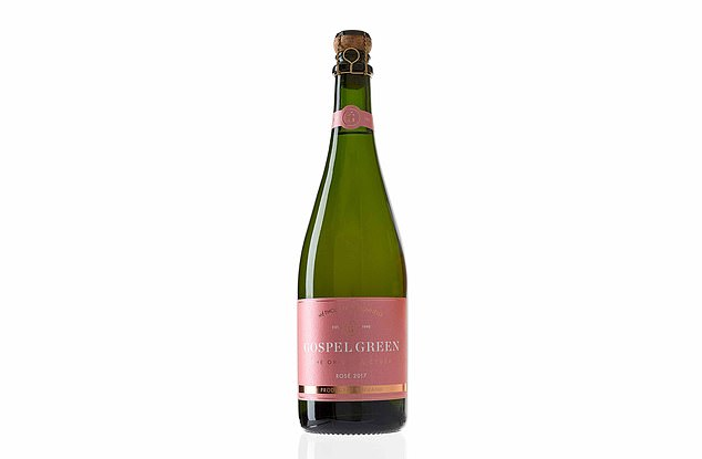 Made in the same way as champagne, Gospel Green Rosé is a bubbly cider and the perfect blend of cooking and dessert apples