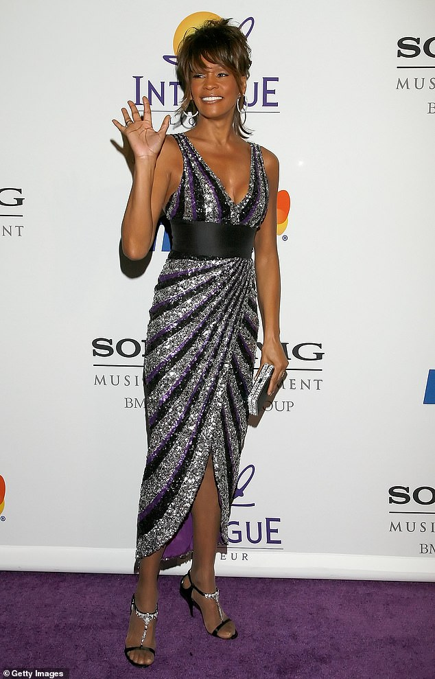 Reigning:Houston, who passed away at the age of 48 in 2012, has been the reigning record holder since 1987; Whitney pictured in 2008