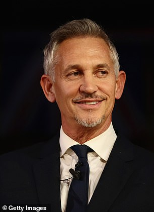 Ms Ball, 49, intends to drop back below former England striker turned football show host Gary Lineker, who is set to earn around £1.3million-a-year after his pay cut, the paper says.
