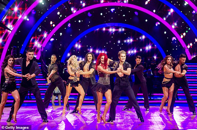 Cancelled?The Strictly Come Dancing tour is in danger of not happening 'due to coronavirus concerns from celebrities' (2019 tour pictured)