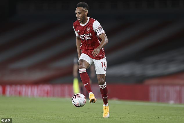 Arsenal captain Aubameyang described Aouar as 'a very good player' who could help the team