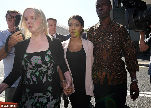 Timbo's lawyer asked for her matter to be adjourned until October 21, and made a point to the judge that the women had been charged separately